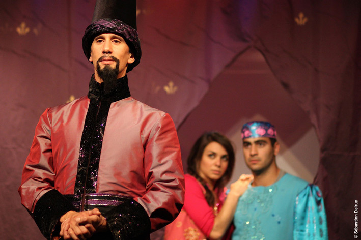 Aladin, le spectacle musical, au Point Virgule