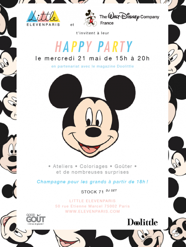 Happy Party de Doolittle, mercredi 21 mai
